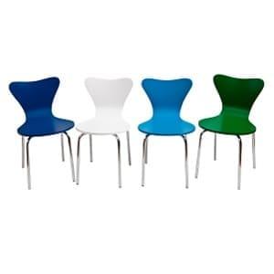 Aluguel de Cadeiras Jacobsen Coloridas