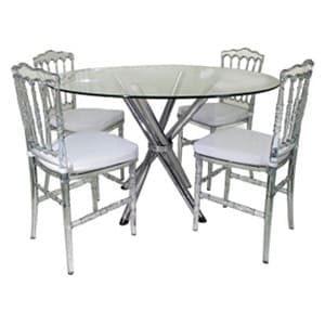 Aluguel de Mesas e Cadeiras Dior