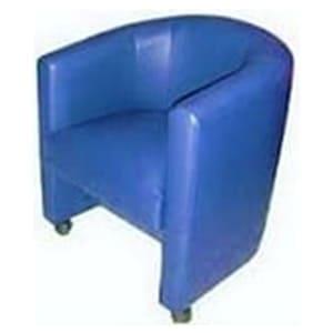 Aluguel de Poltronas Curvas azuis