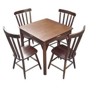 Aluguel de Mesas e Cadeiras de Madeira Maciça