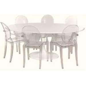 Aluguel de Mesas e Cadeiras Ghost