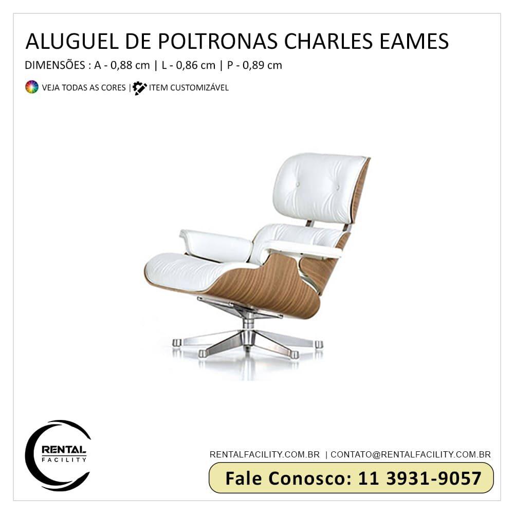 Aluguel de Poltronas Charles Eames