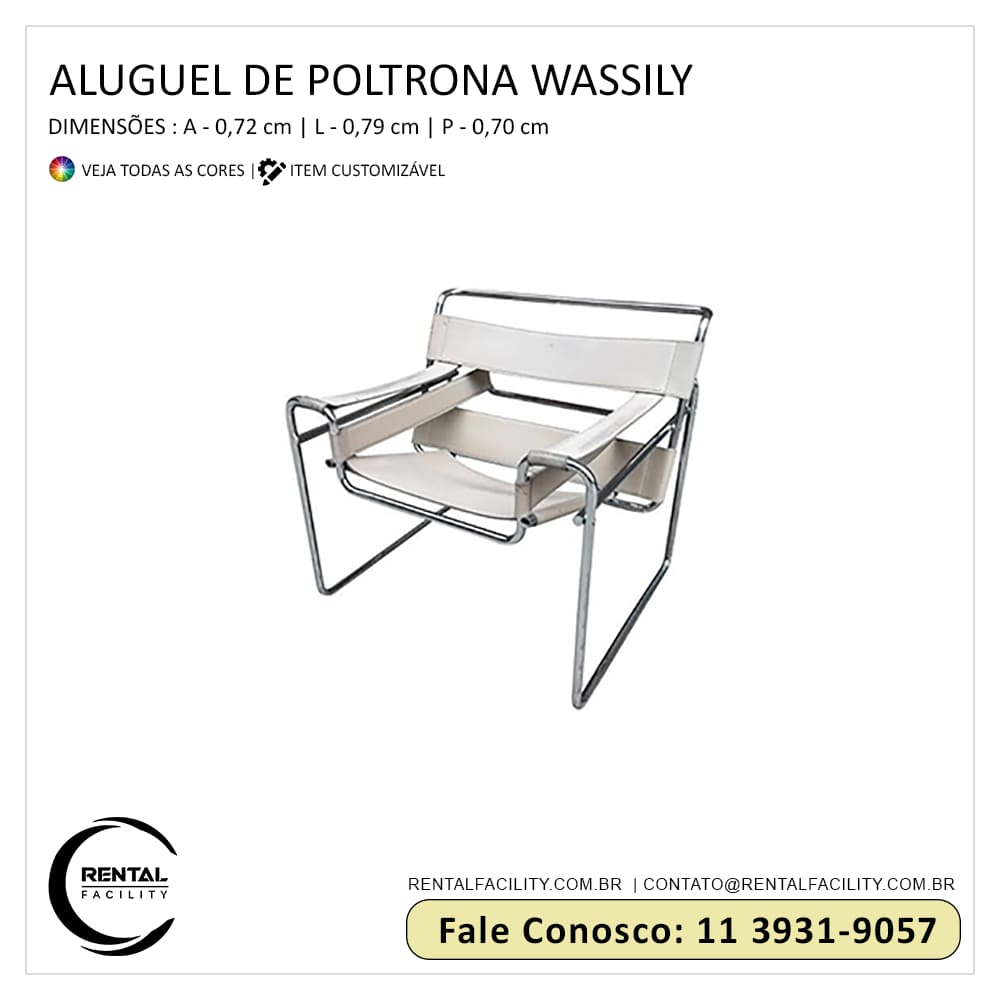 Aluguel de Poltronas Wassily