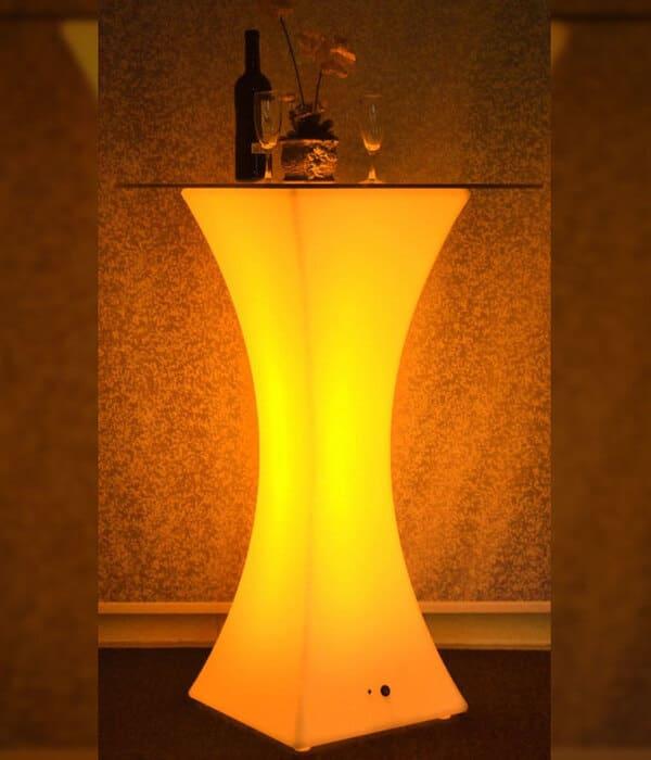aluguel de móveis iluminados LED festas eventos empresas