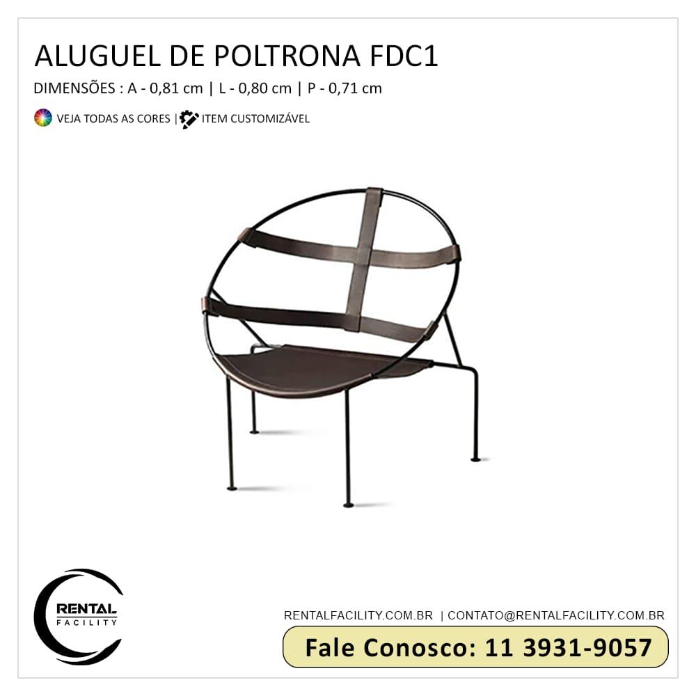 Aluguel de Poltronas FDC1