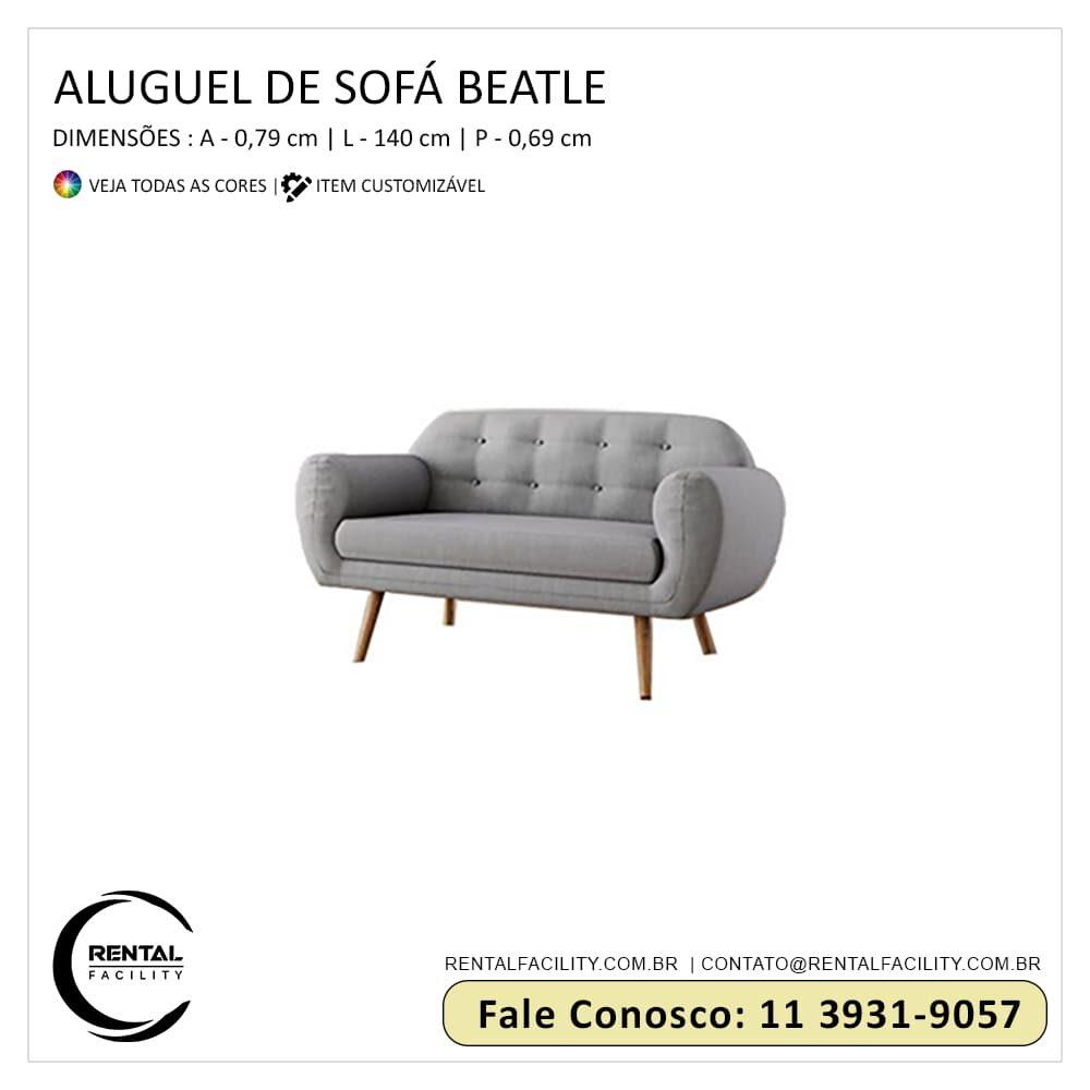 Aluguel de Sofás Beatle