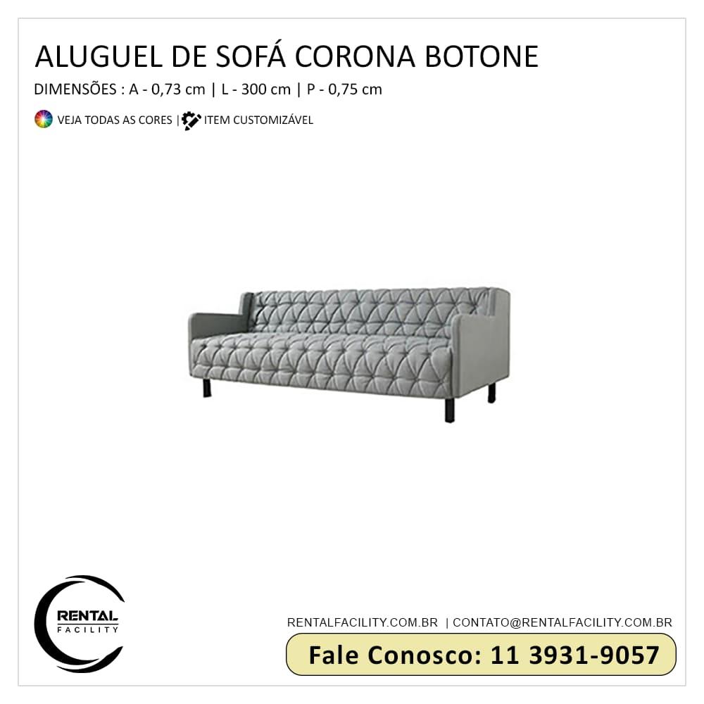 Aluguel de Sofás Corona Botonê
