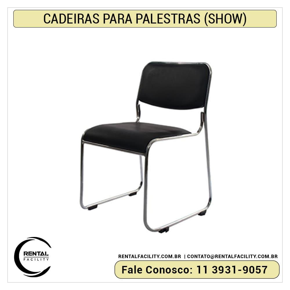 Aluguel de cadeiras para auditório show ch1
