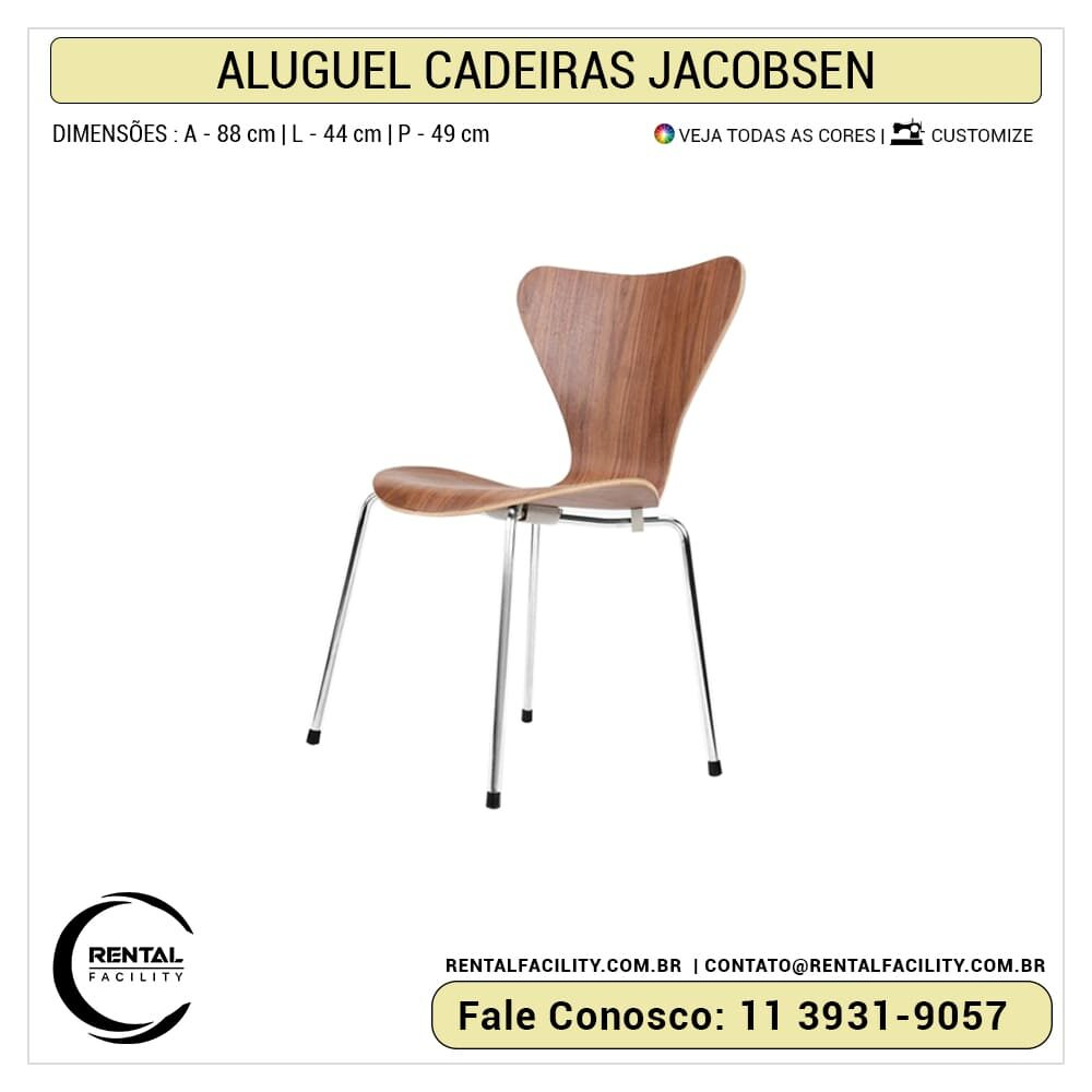 Aluguel de Cadeiras Jacobsen