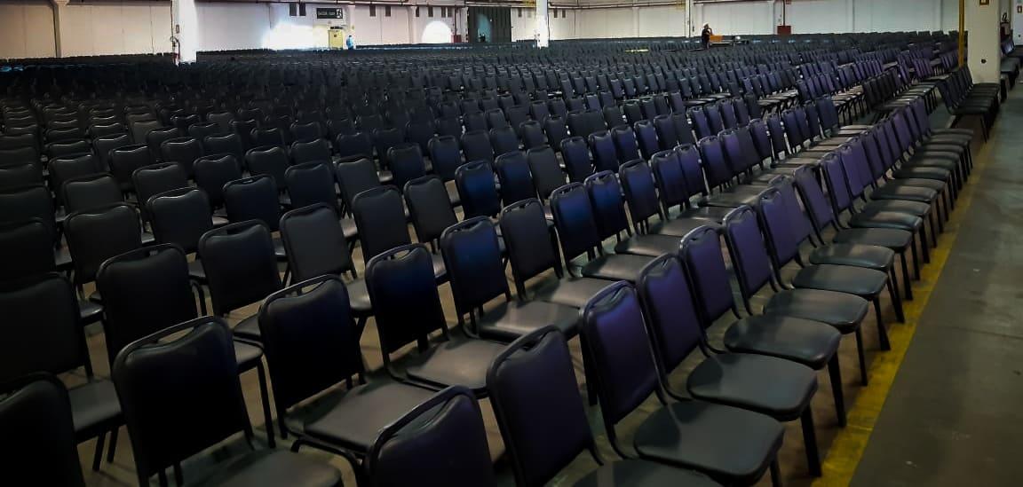 aluguel de cadeiras para auditorio