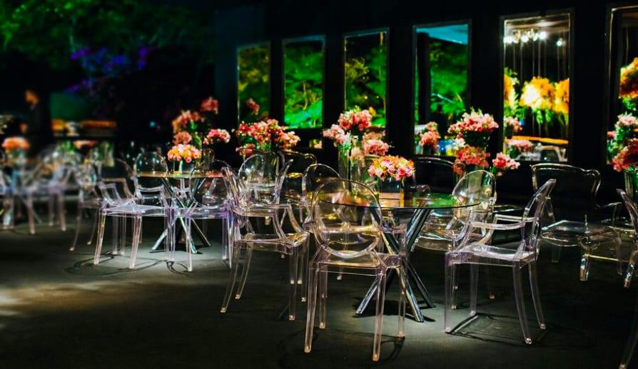 Aluguel de cadeiras Ghost para Casamentos