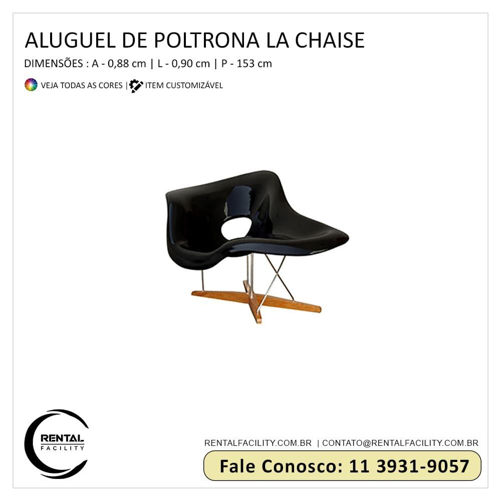 Aluguel de La Chaise