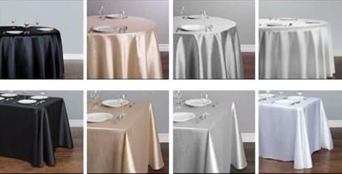 aluguel de toalhas de mesa festas eventos empresas